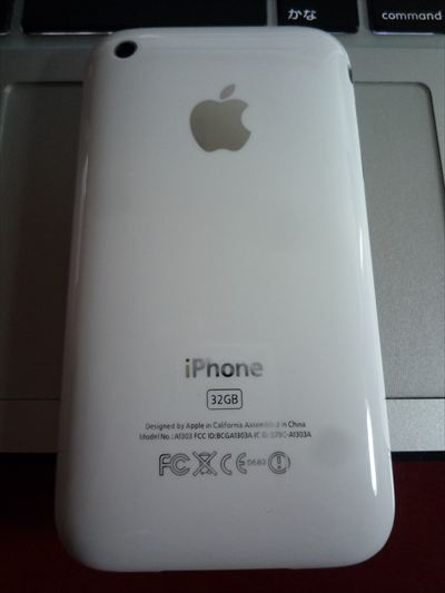 iphone3gs SIMフリー